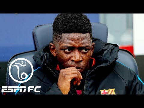 Odd man out at Barcelona appears to be Ousmane Dembele   ESPN FC