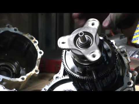 Диагностика и ремонт раздаток BMW ATC35L/ATC45L