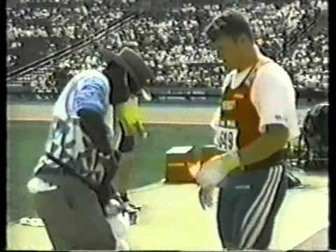 Mens Hammer Throw Final 1996 Olympics Atlanta