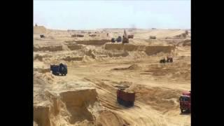 قناة السويس الجديدة : مشهد عام للحفر 26سبتمبر2014