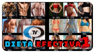 Dieta totalmente efectiva. Parte I. CPTV. Programa 163