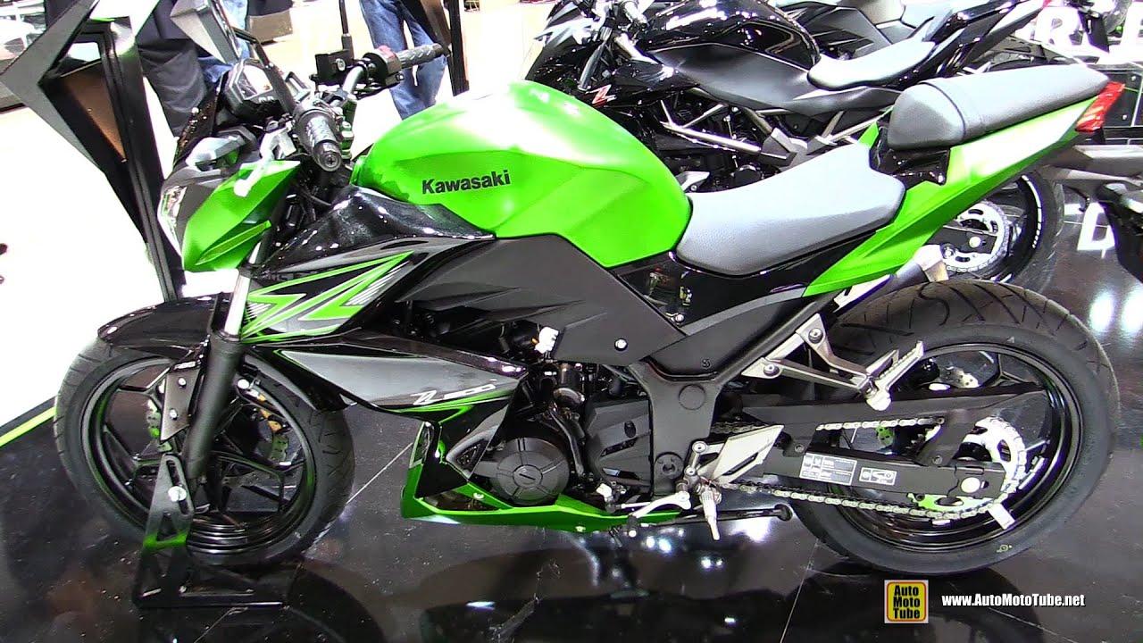 2015 Kawasaki Z300 Walkaround Debut At 2014 Eicma Milan Motorcycle Exhibition