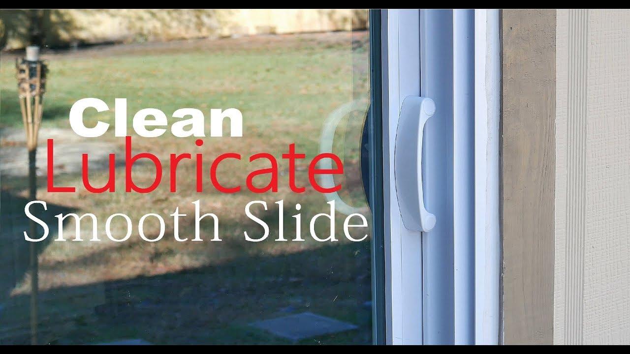 how to lubricate clean sliding patio door easy simple