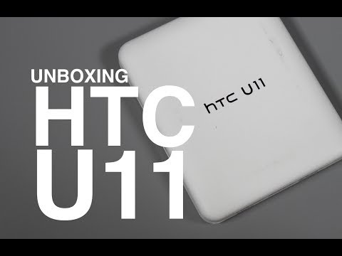 HTC U11 Unboxing  and Tour!