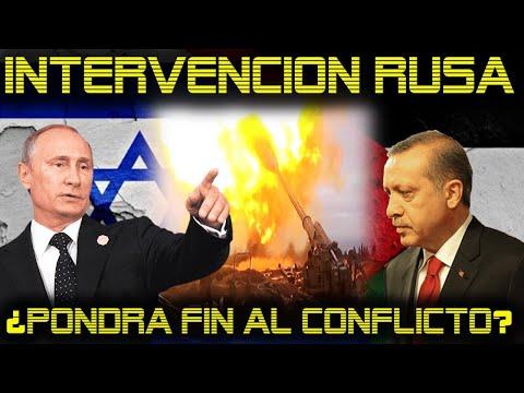 TURQUIA pide a RUSIA Enviar Fuerza Militar a PALESTINA para Contener a ISRAEL