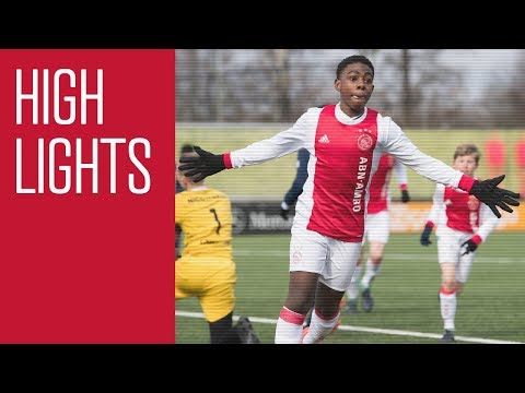Highlights Ajax O14 - Sparta O14