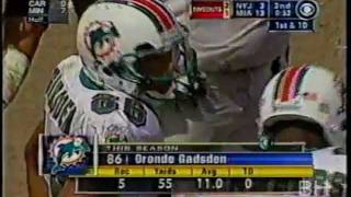 Oronde Gadsden Catch - NY Jets vs. Miami Dolphins