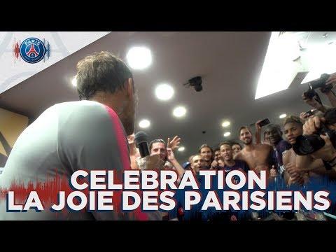 LA JOIE DES PARISIENS - CRAZY CELEBRATION with THOMAS TUCHEL, THIAGO SILVA, NEYMAR JR
