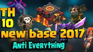 Best Th10 War Base 2017 Vs Anti Everything Anti Valkyrie Anti Bowler Anti 3| super super trailers