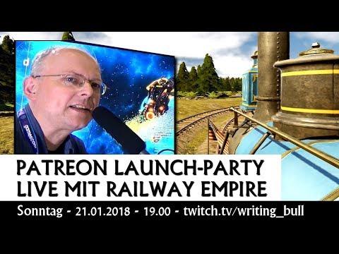 Ankündigung: Patreon-Kampagne & Launch-Party | 21.01.2018