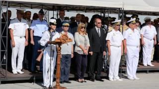 Церемонията по присвояване на първо офицерско звание на курсантите от ВВМУ ''Н. Вапцаров''