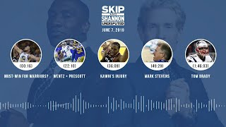 UNDISPUTED Audio Podcast (6.07.19) with Skip Bayless, Shannon Sharpe & Jenny Taft | UNDISPUTED