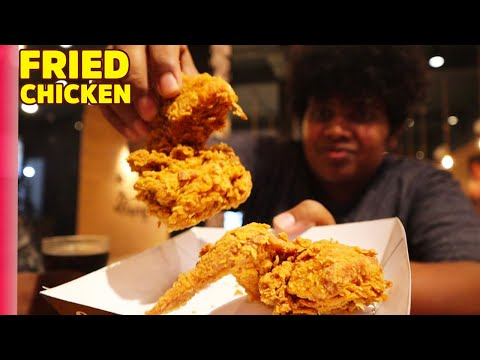 Fried Chicken With Buns