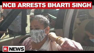 <b>Comedian Bharti Singh</b> Arrested By The NCB After The Admission ...