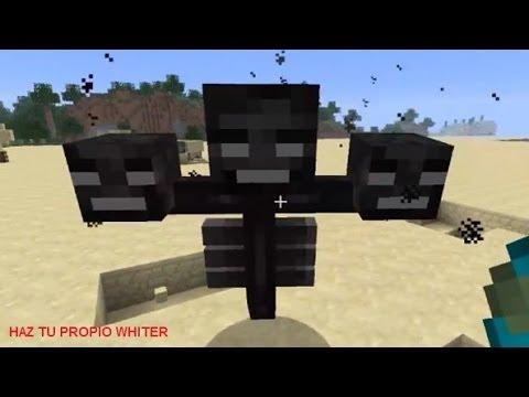 Creando al wither Mine...