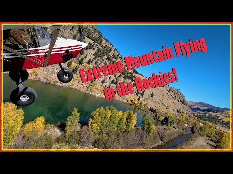 Mountain Flying Adventure To Telluride | Bridal Veil Falls | Fall Colors | Off-airport | RANS