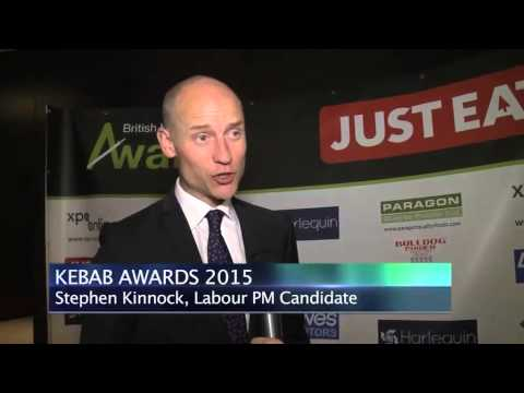 British Kebab Awards 2015, Stephen Kinnock, Labour MP Candidate