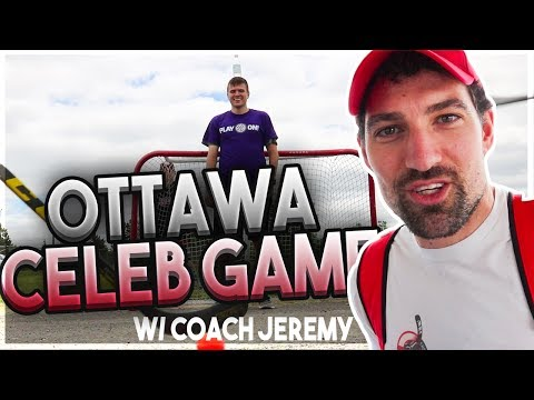 OTTAWA CELEBRITY GAME w/ COACH JEREMY