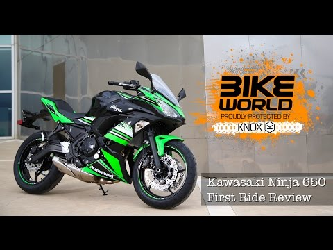 Kawasaki Ninja 650 First Ride Review