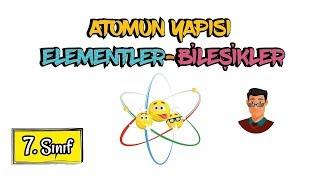 """Atomun Yapısı / Saf Maddeler / 7. Sınıf """"Güncel"""""""