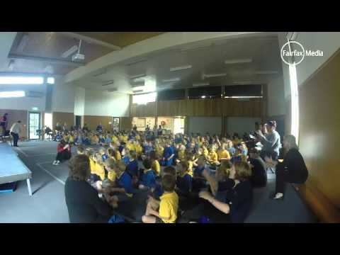 Hillcrest Primary School perform in Music Count Us In