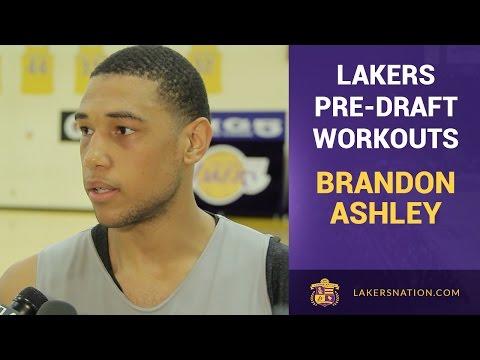 Lakers Pre-Draft Workout: Brandon Ashley