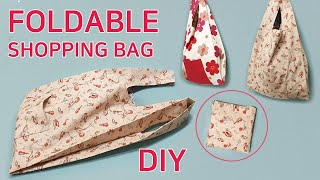 DIY Foldable Shopping Bag/Mark…