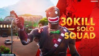30 KILL SOLO SQUAD (INSANE PLAYS) - Fortnite Battle Royale