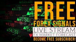 Forex Signals  EUR/USD - USD/JPY M5 - H1 Live Stream