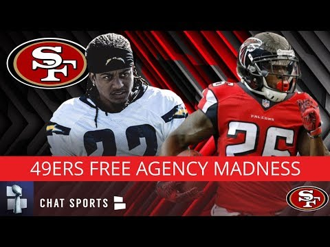 49ers Rumors: Tevin Coleman & Jason Verrett Signings, 49ers Free Agency Grades, 5 Free Agent Targets - 동영상