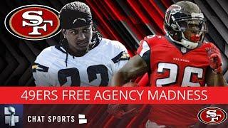 49ers Rumors: 49ers Free Agency Grades, Tevin Coleman & Jason Verrett Signings, 5 Free Agent Targets