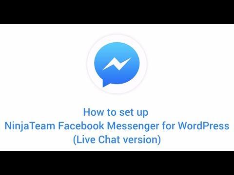 Tutorial - NinjaTeam Facebook Messenger For WordPress (Live Chat Version)