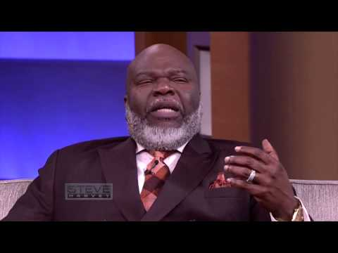 Bishop T.D. Jakes' 5 tips to happiness on the Steve Harvey show