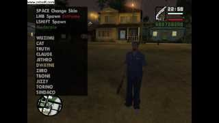 HOW TO CHANGE SKIN IN GTA SAN ANDREAS
