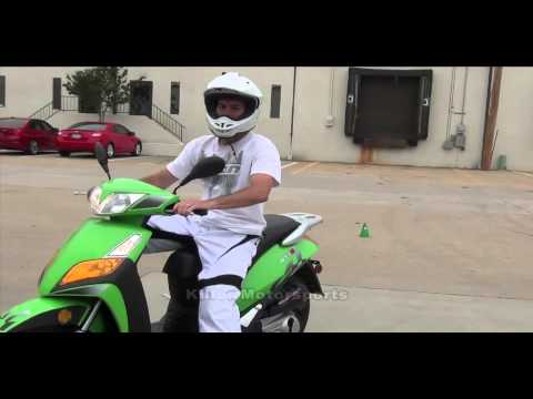 Killer Motorsports GT-S 150cc Peace Scooter Demonstration