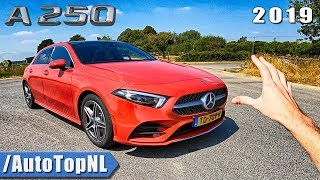 Mercedes A Class A250 AMG Line REVIEW POV on AUTOBAHN & ROAD | DID MERCEDES LIE?! by AutoTopNL