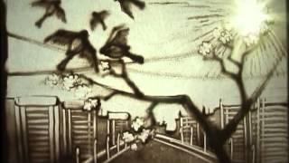 Весеннее настроение (рисование песком) - видеоклип(Художник Светлана Серёгина из Молодечно рисует песком пейзажи,пробуждение весны в природе,ландыши,девочка..., 2012-04-05T14:39:01.000Z)