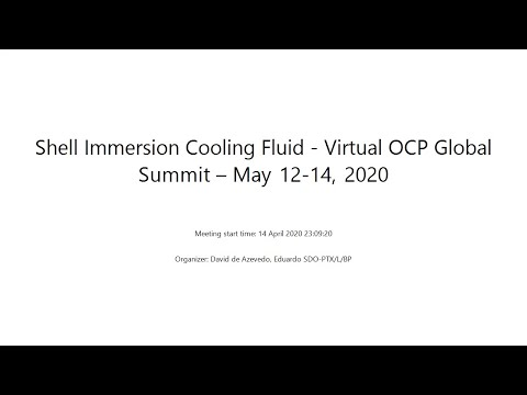 Shell Immersion Cooling by Edu