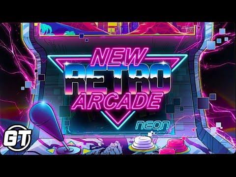 NEW Retro Arcade: Neon in VR (My First Arcade)