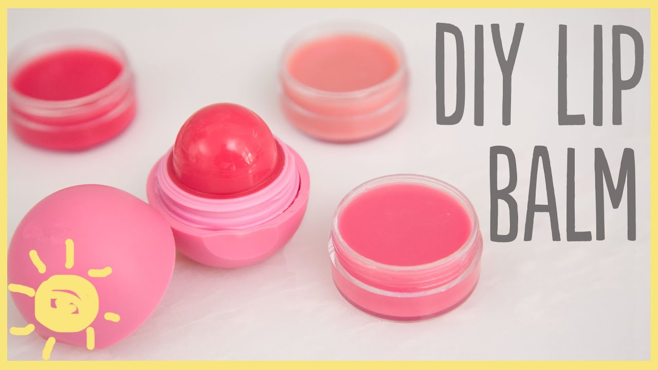 Diy Lip Balm Flavors Diy 5 Minute Lip Balm