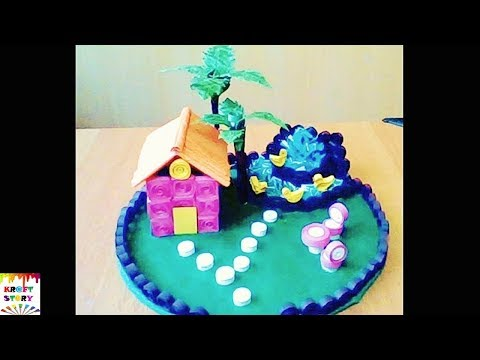 DIY paper quilling house | Quilling craft ideas