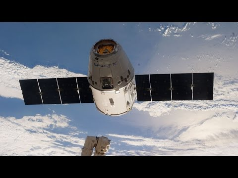 NASA TV : Release of SpaceX Dragon Capsule From The ISS