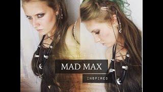 MAD MAX INSPIRED MAKEUP HAIR