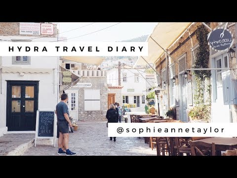 Hydra Travel Diary - Athens on a budget blog