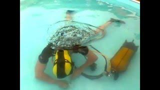 Jak se lepí bazen ?  ( plný vody )?? aneb já  potápeč
