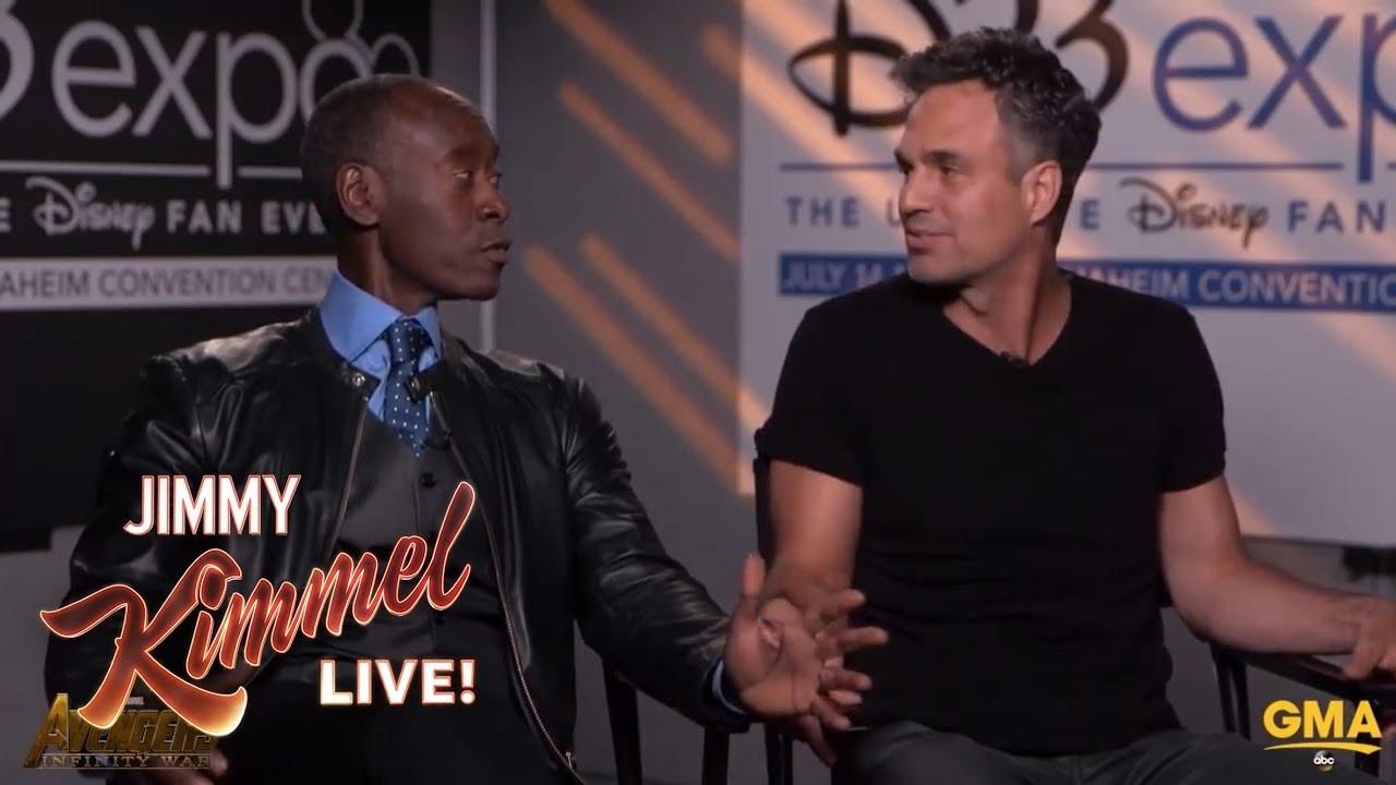 Don Cheadle's Reaction to Mark Ruffalo Spoiling Avengers