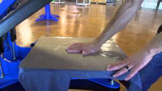 How to Screen Print: Heat Pressing Finished Prints for a Soft Glossy Look and Feel