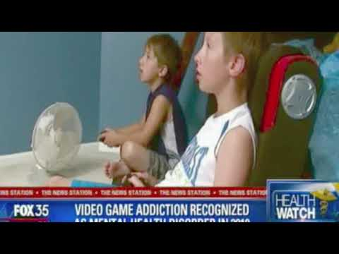 Video Game Addiction Diagnosis Fox 35 | Jim West MA, LMHC teen young adult expert
