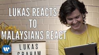 Lukas Graham Reacts to Fans hearing Love Someone for the first time
