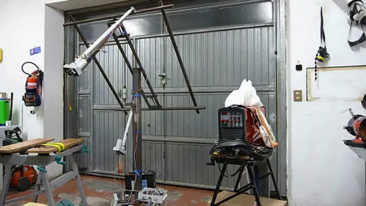 Dual Axis Solar Tracker Youtube